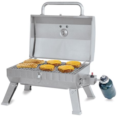 Backyard Grill Premium Stainless Steel Portable Gas Grill ...
