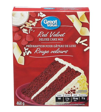 Red Velvet Box Cake Mix