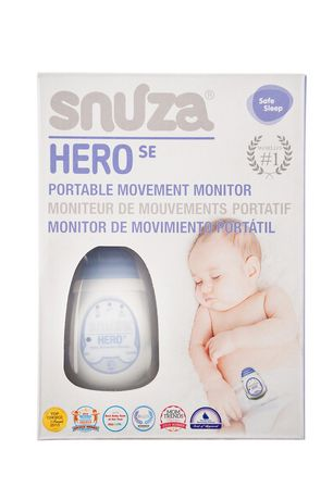 snuza hero portable baby movement monitor. Black Bedroom Furniture Sets. Home Design Ideas