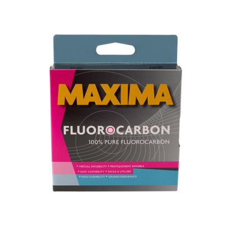 Maxima fluorocarbon leader 15 lbs for Fishing line at walmart