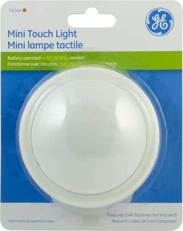 Ge Mini Tap Light Round Battery Operated 1 Pk Walmart Ca