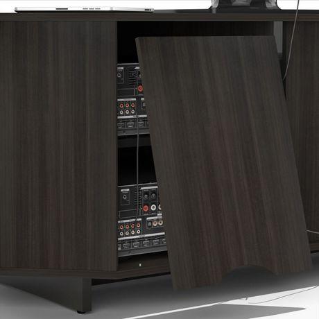 Meuble audio vid o en coin 48 pouces nuance de nexera for Meuble audio video