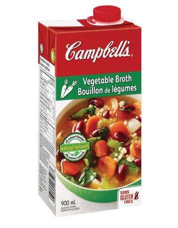 Campbell's Gluten Free Vegetable Broth | Walmart.ca