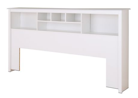 Prepac sonoma collection king size storage headboard - Fabriquer tete de lit avec rangement ...