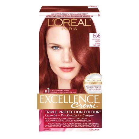 coloration des cheveux permanante triple protection colour excellence crme de loreal paris walmartca - Loreal Paris Coloration