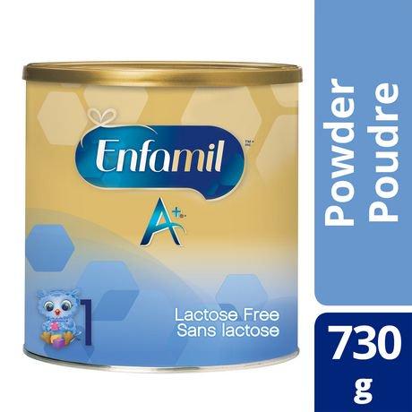 Enfamil A 174 Lactose Free Infant Formula Powder Walmart