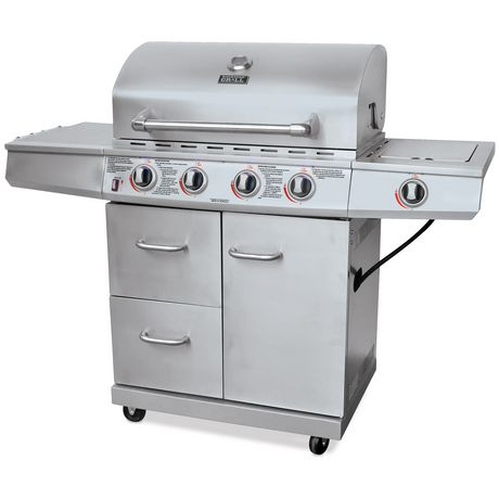 backyard grill stainless steel 4 burner gas grill bbq gbc1562wd c