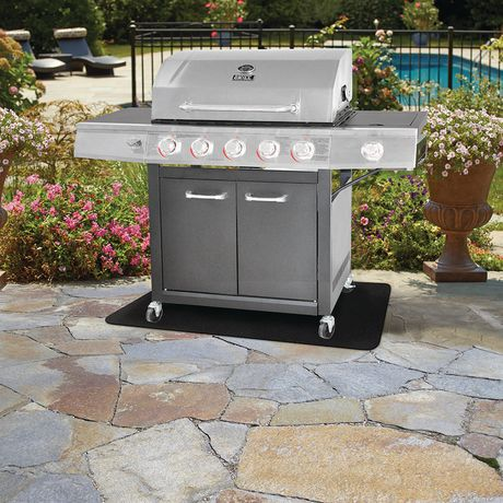 backyard grill deluxe grill mat
