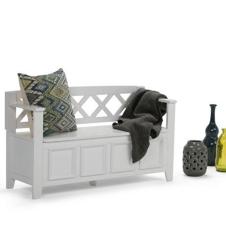 banc de rangement halifax pour l 39 entr e de wyndenhall walmart canada. Black Bedroom Furniture Sets. Home Design Ideas