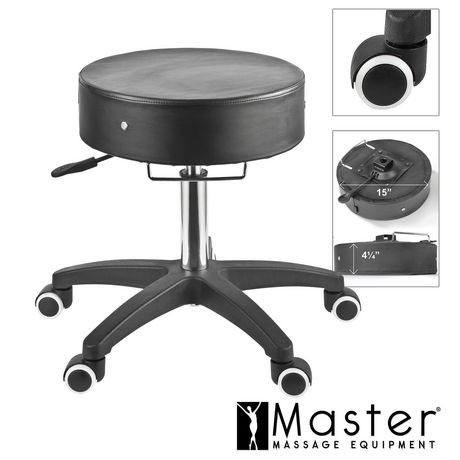 nouveau tabouret roulettes ajustable par master. Black Bedroom Furniture Sets. Home Design Ideas