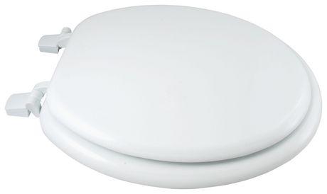 white wood toilet seat