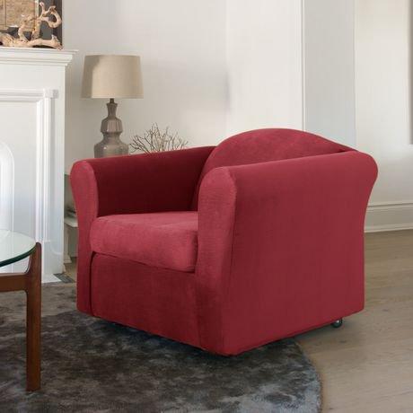 Housse extensible pour fauteuil jagger de surefitmc for Housse extensible pour fauteuil