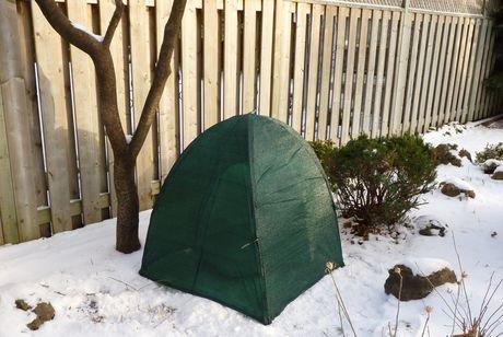 Abri d hiver pour plante arbuste walmart canada for Couverture plante hiver