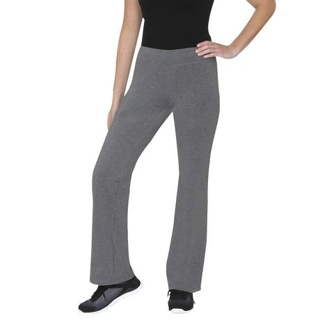 pantalon de yoga athletic works pour femmes en jersey. Black Bedroom Furniture Sets. Home Design Ideas