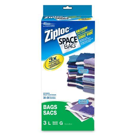 ziploc 174 space bag 174 large vacuum bags walmart ca
