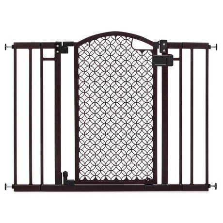 Summer Infant Modern Home Decorative Walk Thru Baby Safety Gate Bronze Regular