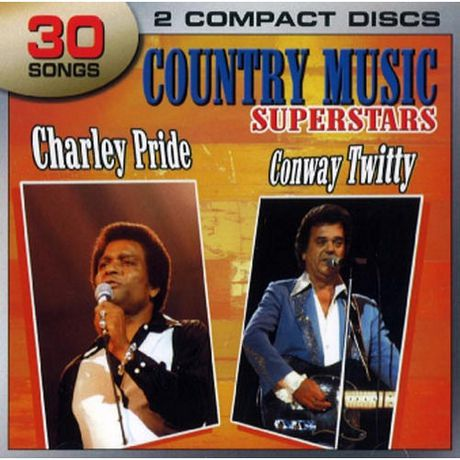 Charlie Pride Conway Twitty Country Music Superstars