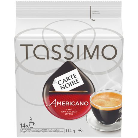 tassimo carte noire americano t discs coffee. Black Bedroom Furniture Sets. Home Design Ideas