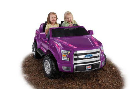 fisher price power wheels ford f 150 violet. Black Bedroom Furniture Sets. Home Design Ideas