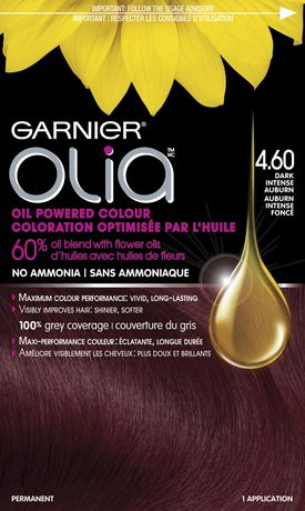 coloration permanente optimise par lhuile pour les cheveux sans ammoniaque olia de garnier walmartca - Coloration Permanente Sans Ammoniaque