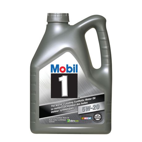 mobil 1 synthetic motor oil 5w20