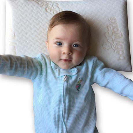 oreiller baby works le 1er oreiller de b b avec taie d 39 oreiller. Black Bedroom Furniture Sets. Home Design Ideas