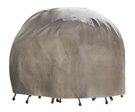 Mtr07676 housse duck covers pour table et chaise ronde for Chaise pour table ronde