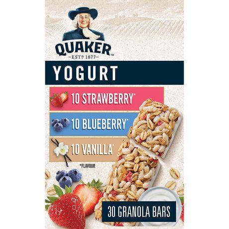 Walmart Oil Change Price >> Quaker Harvest Yogurt Club Pack Granola Bars | Walmart Canada