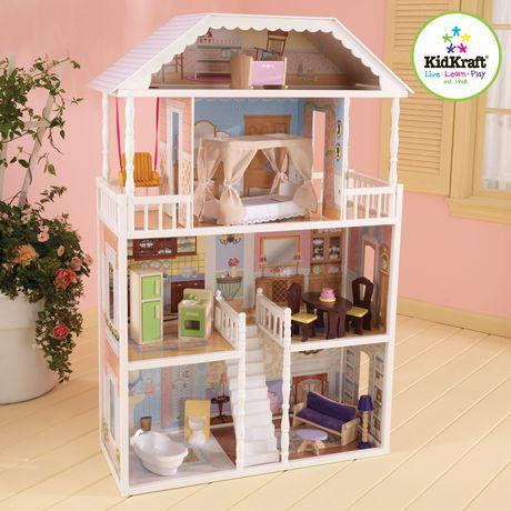 Kidkraft 13 Piece Savannah Dollhouse Playset