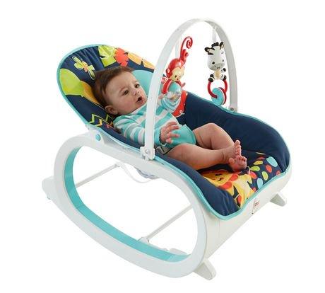 Fisher-Price Infant-to-Toddler Rocker - Midnight Rainforest   Walmart Canada