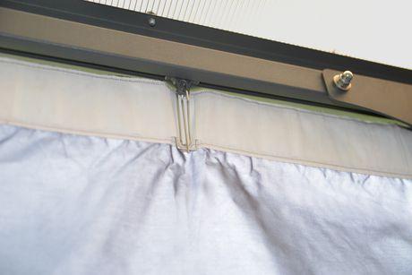 rideaux opaques pour pavillon de jardin palermo de palram. Black Bedroom Furniture Sets. Home Design Ideas