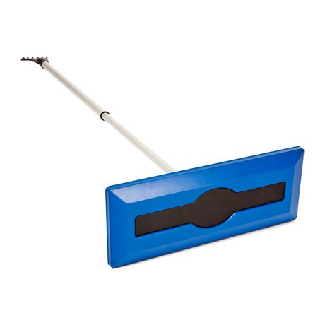 Snow Joe Telescoping Snow Broom with Ice Scraper $10.00