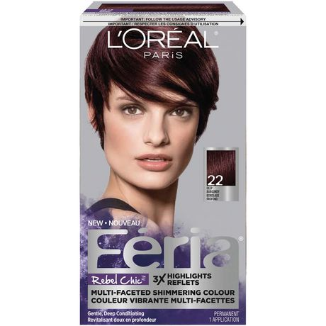 L Oreal Paris F 233 Ria Rebel Chic Permanent Hair Colour