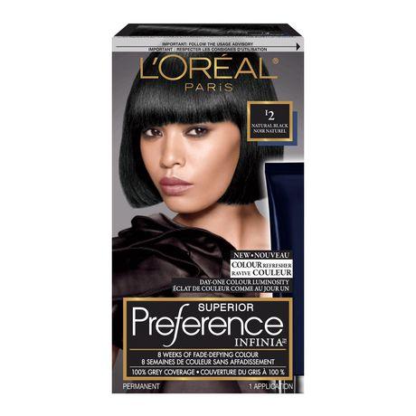 coloration des cheveux permanante superior preference infinia de loreal paris walmartca - Coloration Preference
