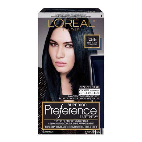 coloration des cheveux permanante superior preference infinia de loreal paris walmartca - Coloration Temporaire L Oreal