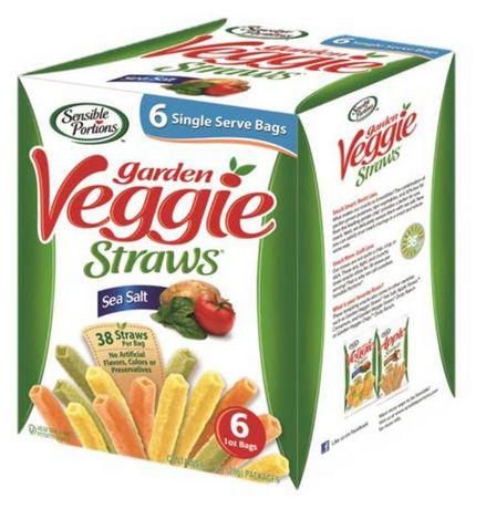 Sensible Portions Multi Pack Garden Veggie Straws