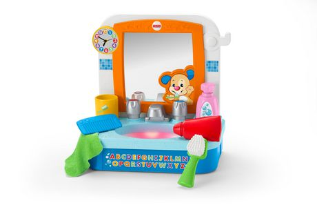 Fisher-Price Laugh & Learn Let's Get Ready Sink - French Edition
