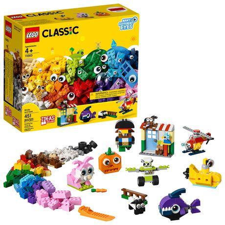 Lego Classic Bricks And Eyes 11003 Building Kit (451 Piece)