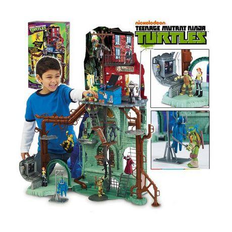 Teenage Mutant Ninja Turtles Super Sewer Lair Playset $50 @ Walmart.ca