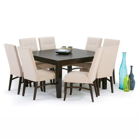 wyndenhall colburn 54 inch square dining table. Black Bedroom Furniture Sets. Home Design Ideas