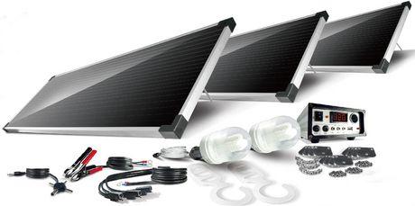 Schumacher Electric Sp 5400 54 Watt Solar Panel Kit Three