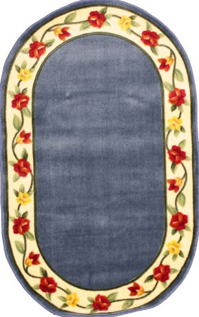 eternal oval area rug non slip backing. Black Bedroom Furniture Sets. Home Design Ideas