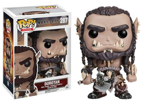 UPC 889698074681 product image for Funko Pop! Movies: Warcraft - Durotan Vinyl Figure | upcitemdb.com