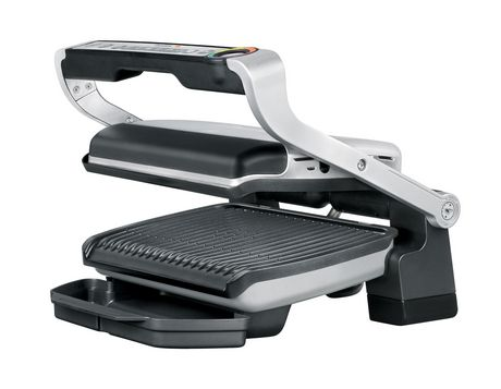 T Fal Optigrill Stainless Steel Indoor Electric Grill