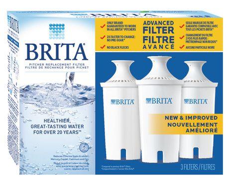 [walmart] Brita 3 pack Advanced Filter $12.88 (34.8% off)