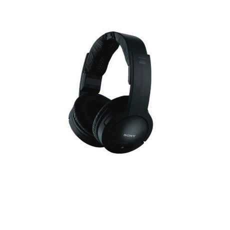 casque d 39 coute supra auriculaire sans fil de sony mdrrf985rk noir. Black Bedroom Furniture Sets. Home Design Ideas
