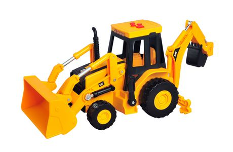 cat site machine backhoe