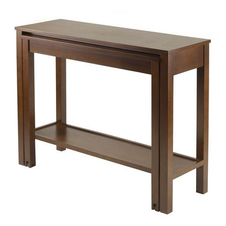 94842 table console extensible brandon for Table exterieur walmart