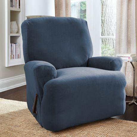 Housse extensible pour fauteuil inclinable harlow de for Housse extensible pour fauteuil