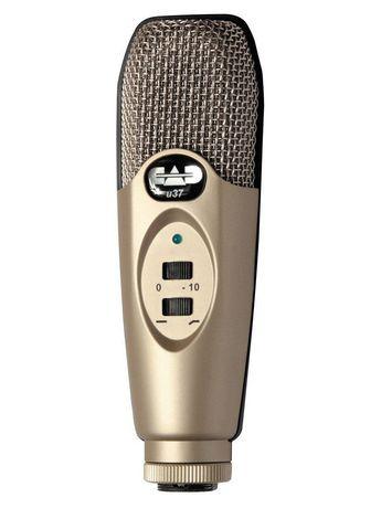 cad audio studio condenser usb microphone u37. Black Bedroom Furniture Sets. Home Design Ideas